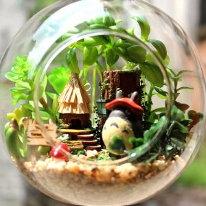 My Neighbor Totoro Terrarium Shut Up And Take My Yen : Anime & Gaming Merchandise