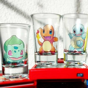 Pokemon Shot Glasses