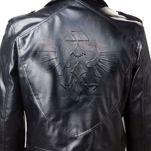 Legend Of Zelda Biker Jacket Shut Up And Take My Yen : Anime & Gaming Merchandise