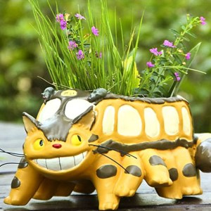 My Neighbor Totoro Catbus Planter Shut Up And Take My Yen : Anime & Gaming Merchandise