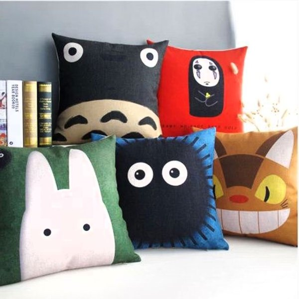 Cute Kawaii Totoro Anime Led Colorful Plush Pillow : Shut Up And Take My Yen My Neighbor Totoro Pillow CasesMy Neighbor Totoro Pillow Cases - Shut ...