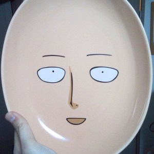 One Punch Man Plate Shut Up And Take My Yen : Anime & Gaming Merchandise