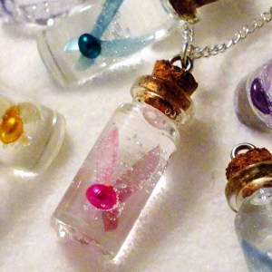 Legend Of Zelda Bottled Fairy Necklace