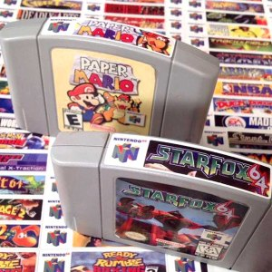N64 End Labels