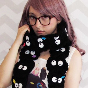 Soot Sprite Scarf