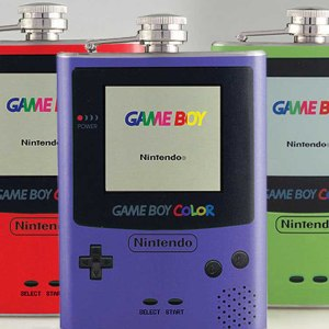 GameBoy Color Flask