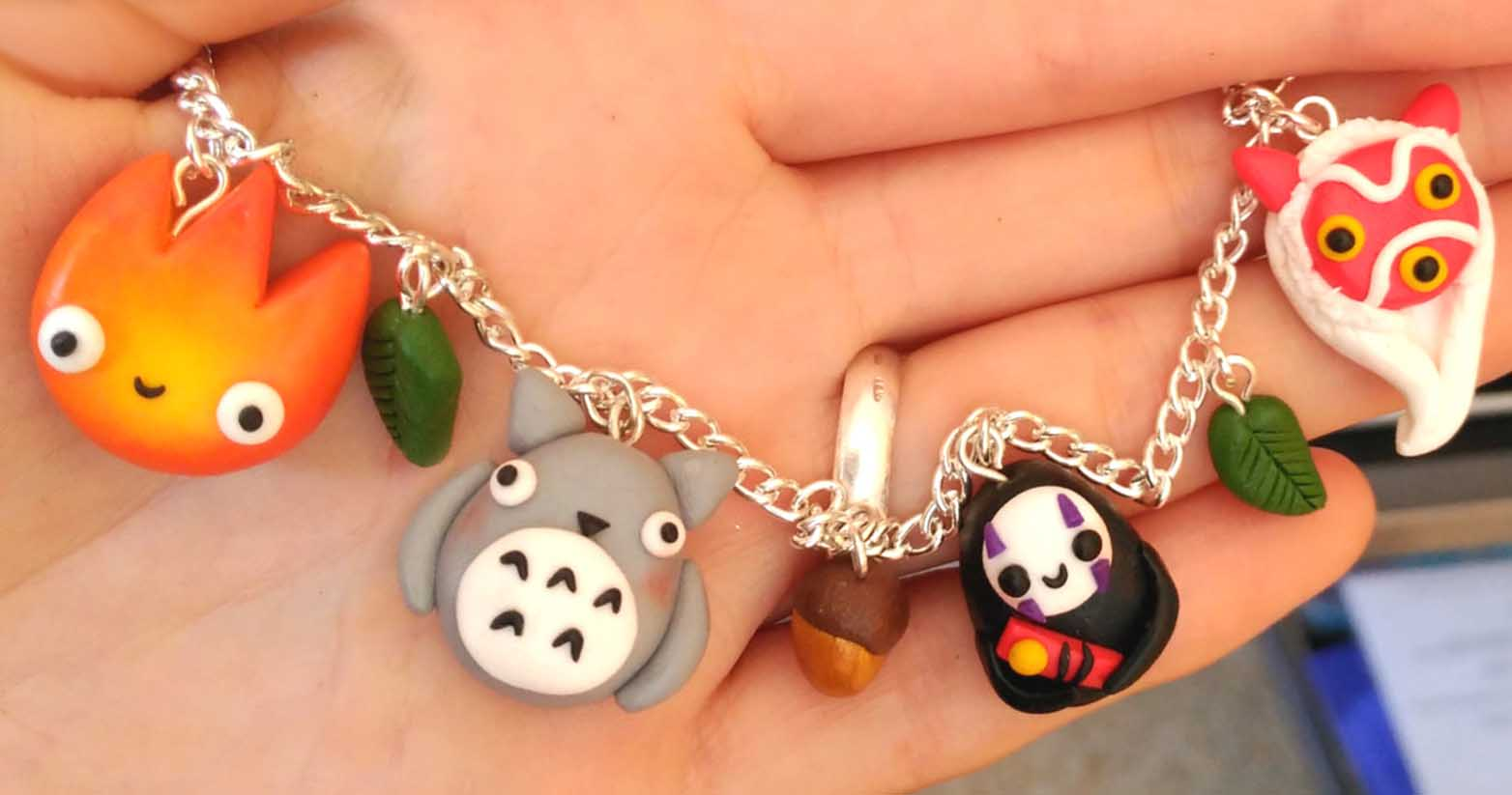 Studio Ghibli Charm Bracelet Shut Up And Take My Yen