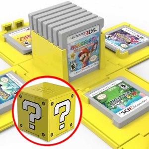 Super Mario Question Block 3DS Cartridge Case