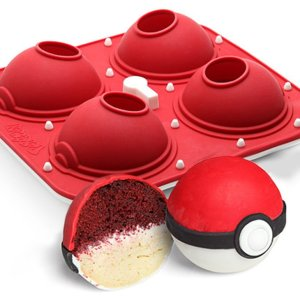 Pokemon Pokeball Cupcake Pan