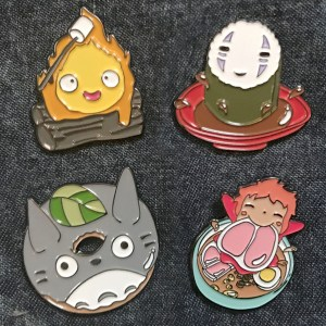 Studio Ghibli Food Pins