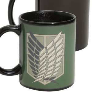 Attack On Titan Heat Mug
