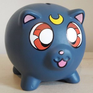 Sailor Moon Luna Piggy Bank