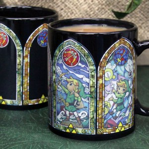 Legend Of Zelda Heat Changing Mug