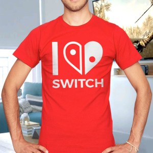 I Heart Nintendo Switch T-Shirt