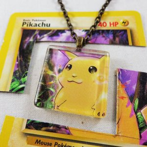 Pokemon Card Charms