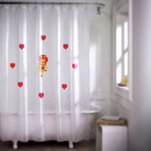 Zelda Fairy Shower Curtain
