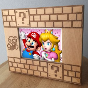 Super Mario Picture Frame