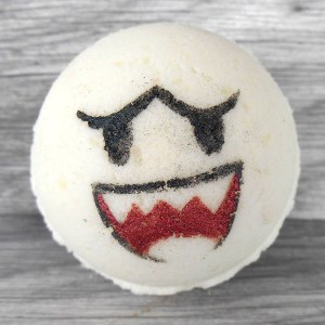 Super Mario Boo Bath Bomb
