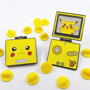 Pikachu Gameboy Advance Hinged Pin