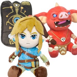 Zelda Breath Of The Wild Plushies