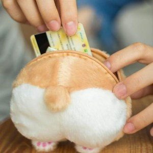 Corgi Butt Coin Purse
