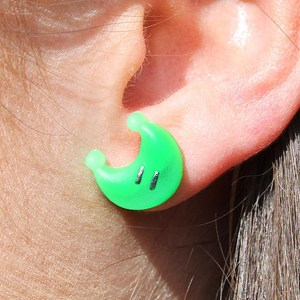 Super Mario Power Moon Earrings