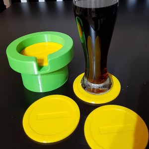 Super Mario Coin Coasters