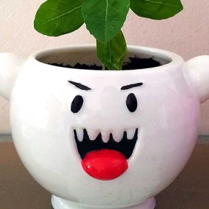 Super Mario Boo Planter