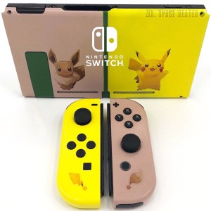 Pokemon Let's Go Switch Shells