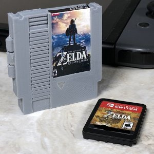 NES Nintendo Switch Cartridge Case