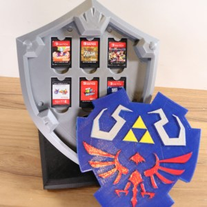 Zelda Hylian Shield Switch Cartridge Case