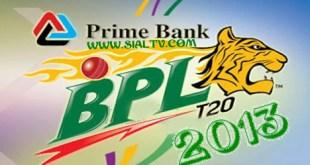 BPL T20 2013