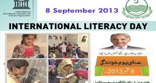 Internatinal Literacy Day 2013