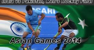 India vs Pakistan Hockey Final Match