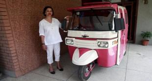 Female-only Pink Rickshaw