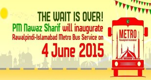 Metro Bus Service Launched in Rawalpindi