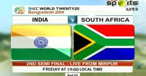 India vs South Africa 2nd Semi FInal Match Live STreaming