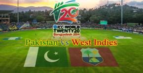 Pakistan vs West Indies T20 Match Live Streaming 1st April 2014