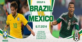 Brazil vs Mexico FIFA World Cup Match Live Streaming
