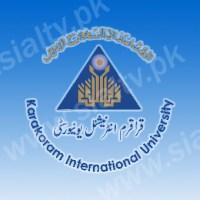 Karakoram International University (KIU) Matric (SSC-II) 10th Class Result 2014 Announced