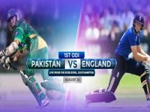 Pakistan vs England 1st ODI Match Live