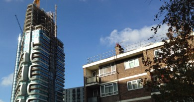Towers and council homes
