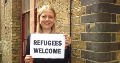 Sian Berry says refugees are welcome in London