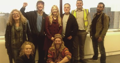 Sian visits West End Lane with local campaigners
