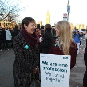 Caroline Lucas and Sian Berry