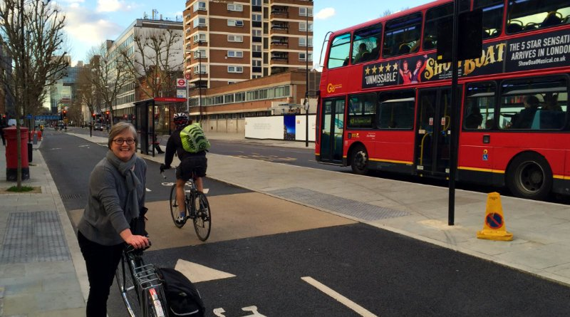 Caroline Russell at a Superhighway in Camberwell