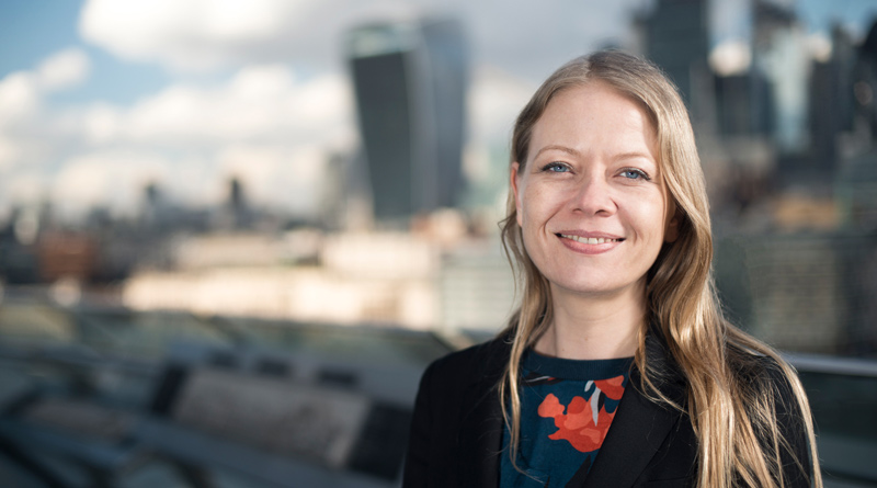 Sian Berry at City Hall