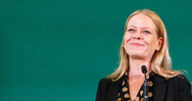 Sian Berry speaking at Conference 2018