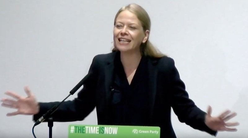 Sian giving conference speech Oct 2019