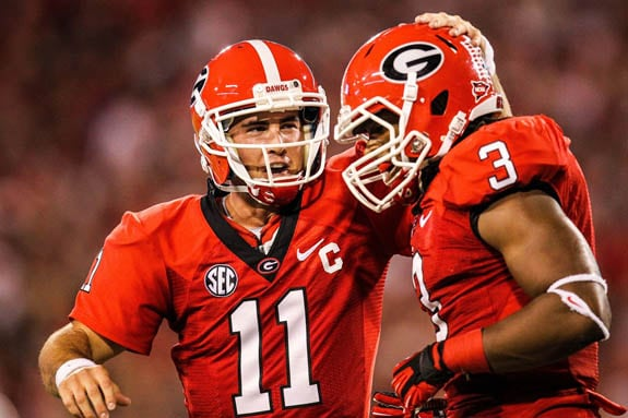 Murray and Gurley are preseason All-SEC. (Daniel Shirey-USA TODAY Sports)